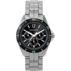 Nautica Men's N13623G NAC 101 Classic Analog Watch NAUTICA. $108.00. Case diameter: 40. Quartz movement. Durable mineral crystal protects watch from scratches. Stainless steel case. Water-resistant to 50 M (165 feet)
