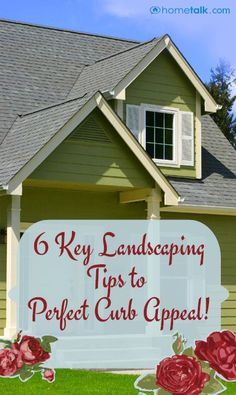Great Idea!! 20 Ways To Add Curb Appeal To Your Home ..#diy, #curb appeal