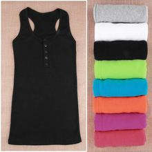 1Pc Ladies Multicolor Long Sleeveless Bodycon Temperament Cotton Long T-shirt Tank Top Women Vest Tops regatas feminino Hot(China (Mainland))