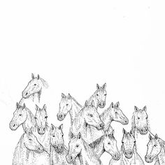 molou_art Insta Art, My Arts, Diagram, Horses, Drawings, Illustration, Artist, Artwork, Animals