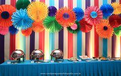 Meninas...     O aniversário da Bia foi um Baile de Carnaval...logo que começamos a organizar a decoração já denominamos a festa carinhosam...