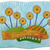 Weezie's Wildflowers - Artfabrik miniature quilt