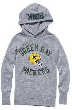 Victoria Secret Green Bay Packers Hoodie da479550e