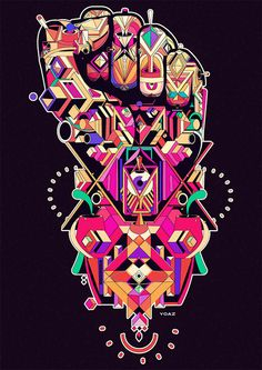 fingers by Yo Az, via Behance