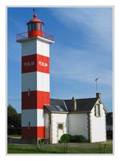 Pen Lan lighthouse - Billiers, Bretagne