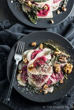 Want to impress your date? Make them Beet and Goat Cheese Ravioli tossed in brown butter and sprinkled with crispy sage and walnuts. It'll be our secret that the ravioli is made with wonton wrappers and is SUPER easy to make. Wonton ravioli is a perfect Valentine's Day dinner recipe or for anytime you're looking...Read More »
