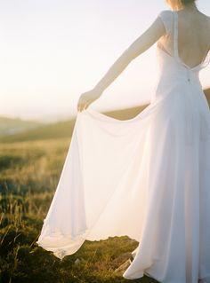 Dreamy Modern Wedding Dress - Rembo Styling - ©Celine Chhuon
