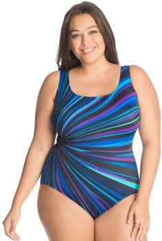 Women's Croft & Barrow® Tummy Slimmer Skater Swimdress, Size: 10, Oxford |  Products