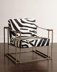 Bernhardt Holloway Hairhide Chair