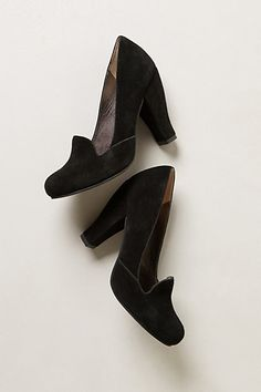 Chateau Heeled Loafers | Anthropologie