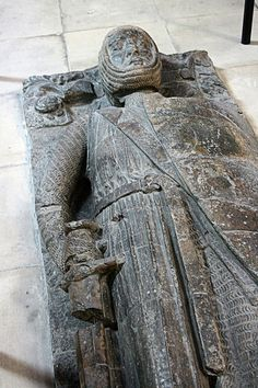 William Marshal, 1st Earl of Pembroke - Effigy above the tomb of William Marshal in Temple Church, London