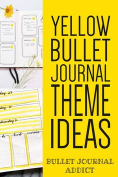 Bullet Journal Inspiration For Yellow Themes - Yellow Bullet Journal Theme Ideas - Bullet Journal Themes In Yellow #yellow #yellowtheme #yellowbujo #bujoyellow #bujo #bulletjournal #bujolove #bujoinspo #bujospreads #bujomonthly #bujocoverpage #bujotheme #bujoideas Bullet Journal Quotes, Journal Fonts, Bullet Journal Themes, Bullet Journal Spread, Bullet Journal Inspiration, Journal Ideas, Journaling, Lemon Quotes, Easy Doodles