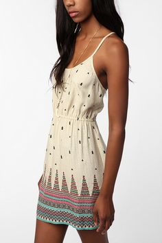 UrbanOutfitters.com > Ecote Peaks & Valleys Dress -- $39.99