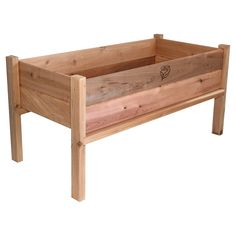 Easy to assemble, the Elevated Garden Planter from GRO Products is constructed with Western Red Cedar, is pre-drilled, pre-cut and all fastening hardware included. Place landscape fabric in the bottom of the bed, then add your soil and you are ready to plant your vegetable, herb, or flower garden. A family owned and operated business, GRO Products manufactures all its quality products in the USA, including elevated garden planters and its versatile Vertical Gro System (VGS). Measures 48 by…