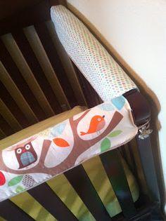 Crib Teething Guard on Pinterest | Crib Rail Cover, Crib ...