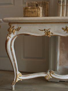 Antique console tables - Augustus Brandt