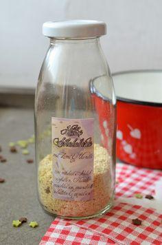 Ninas kleiner Food-Blog: Weiße Trinkschokolade zum Verschenken