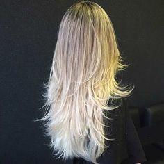 Long, Layered Haircut for Thin Hair