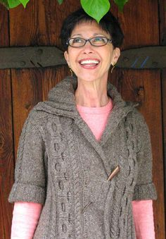 Quercus- free cardigan pattern