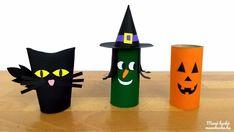 Halloween figurák papírgurigából készítve Halloween Decorations, Halloween Prop, Halloween Jewelry