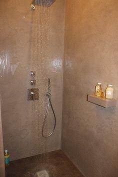 Beton Ciré Saint Malo, Faire votre salle de bain en beton ciré, avec la maison des ocres