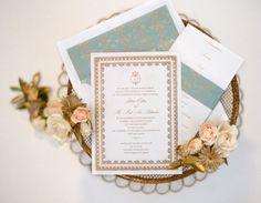 Invitations by http://www.papelpress.com/,  Photography by http://www.delesieblog.com/