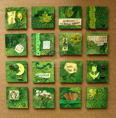 Green inchies by bastet78.deviantart.com on @deviantART