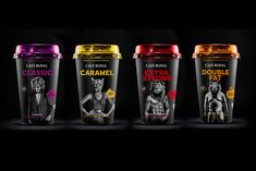 Café Royal - Ready to Drink Iced Coffee on Packaging of the World - Creative Package Design Gallery