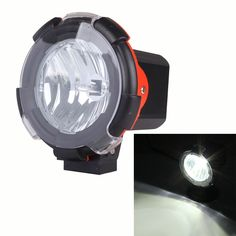 4 inch 55W HID Work Light 12V Flood Beam H3 Fog Light Driving Lamp for SUV Truck 4WD Off-road