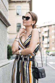 Shein top & pants #ootd #fashionblog #shein #summer #stripes