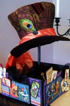 Mad Hatter Halloween Centerpiece - Craft Test Dummies | Craft Test Dummies