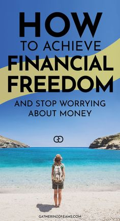 Financial Freedom: 7 Easy Steps To Achieve Your Dreams Best Money Saving Tips, Ways To Save Money, Money Tips, Saving Money, How To Make Money, Freedom Financial, Financial Goals, Financial Planning, Earn Extra Cash