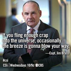 Who doesn't love Jim Brass? - CSI
