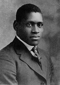 Paul Robeson as a junior at Rutgers University. He was valedictorian for his graduating class in 1919.