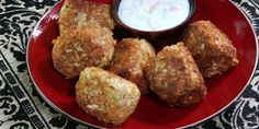 Food Network Canada | Mozzarella Gobi Koftas with Sweet Potato Raita Recipes