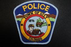 Silt Police Patch, Garfield County, Colorado (Vintage)