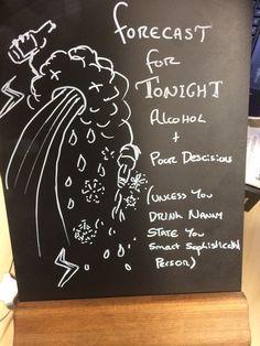 funny pub signs nirvana beer
