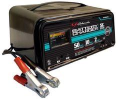 Schumacher 2/10/50 Amp Automatic Handheld Battery Charger New Emergency Starting #Schumacher