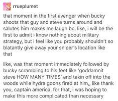 Bucky and Steve.