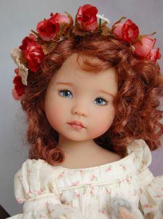 "Dianna Effner's Little Darling #2 ""Fisher Jean"" Painted by Joyce Mathews in | eBay"