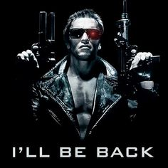 Arnold is back as the Terminator, Trench Mauser, Conan the barbarian, Julius Benedict, etc.