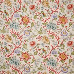 Pindler Fabric P6036 TENALI - CORAL trade.pindler.com Victorian Chair, Chair Fabric, Coral, Quilts, Rugs, Home Decor, Farmhouse Rugs, Decoration Home, Room Decor