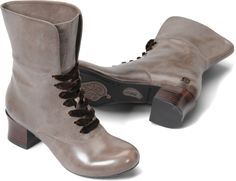 Glenda, slate burnished  www.bornshoes.com