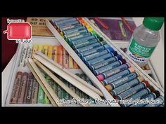 TUDO sobre GIZ PASTEL - Como colorir fundos no Jardim Secreto e Floresta Encantada - YouTube