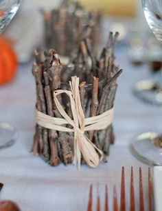 AMY, remember these???? Can you bring me   down some twigs from your front yard and we can make some quick before the   wedding??