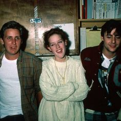 Emilio Estevez, Molly Ringwald, and Judd Nelson