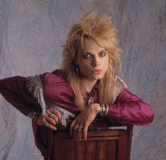 Portrait of musician Michael Monroe of the group Hanoi Rocks New York New York June 15 1989