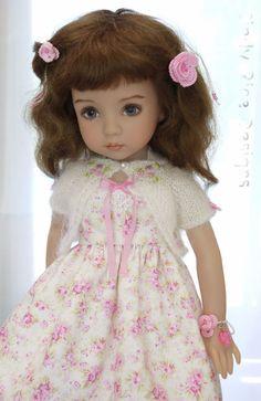 """Summer's Sweetheart"", for Effner's Little Darling dolls, cindyricedesigns.com"