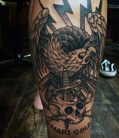 Bird Tattoo For Men