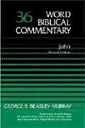 """Word Biblical Commentary #36 by George R. Beasley-murray: The """"Word Biblical Commentary"""" delivers the best in biblical scholarship, from the leading scholars of our day who share a commitment to Scripture as divine revelation. This series emphasizes a thorough analysis of textual, linguistic, structural, and theological evidence. The result is judicious and balanced..."""